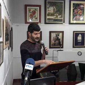 El historiador y concejal Sebastián Guzmán ofreció en su conferencia una completa visión sobre la historia del vino en Chipiona