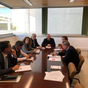 El gobierno municipal chipionero pidió al responsable de Educación de la Junta en Cádiz la puesta en marcha el comedor del Principe Felipe
