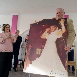La Hermandad del Pinar homenajeó en su tradicional Berza a Pepi Porras 'Marina' recordando su actuación en la primera edición
