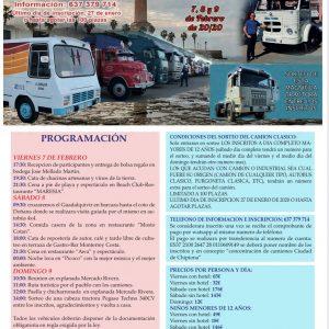 La cuarta Concentración nacional de camiones Ciudad de Chipiona superará el nivel de participación de la edición anterior