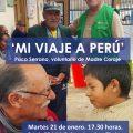Un voluntario de Madre Coraje cuenta su experiencia de viaje con Madre Coraje en Perú para acercar realidades del país andino