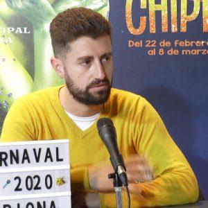 Cristóbal Santos: El pregón es una oportunidad para devolver al carnaval todo lo que me ha dado