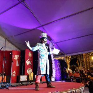Cristóbal Santos abre el carnaval de Chipiona con un pregón 'de película' que transitó de lo personal a lo reinvindicativo