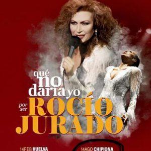 El musical 'Que no daría yo por ser Rocío Jurado' programado en Chipiona el 14 de agosto