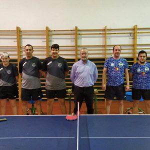 EL Club Tenis de Mesa Portuense vence a la Asociación deportiva Cáceres y se sitúa segundo en la clasificación nacional