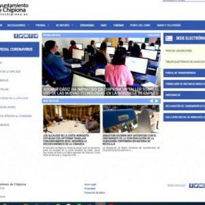 La web del Ayuntamiento de Chipiona habilita un apartado 'Especial Coronavirus' como canal de información a los ciudadanos