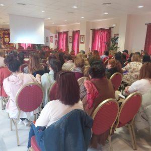 Una charla sobre prevención de la violencia de género ha continuado hoy con los actos del Día Internacional de las Mujeres en Chipiona
