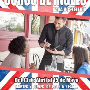 La Delegación de Juventud ofrecerá un curso gratuito de inglés para menores de 30 años que se dedican al sector hostelero