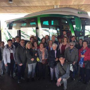 31 usuarios del Centro de Mayores de Chipiona disfrutan desde hoy de un viaje a Marbella de cinco días