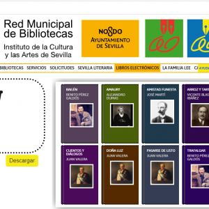 El Ayuntamiento de Sevilla ofrece a la ciudadanía un catálogo de más de 2.700 libros electrónicos a través de la Red Municipal de Bibliotecas