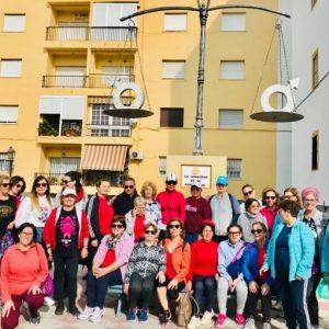 Más de treinta participantes en una ruta para sensibilizar sobre el cuidado del medio natural y el reciclaje por el Día de las Mujeres