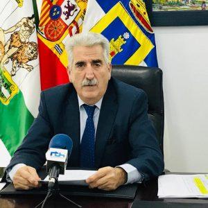 Luis Mario Aparcero ha participado en un Consejo de Alcaldías convocado por Diputación sobre respuestas a la pandemia