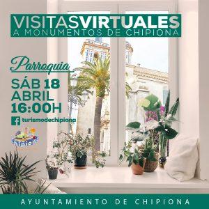 Turismo pone en marcha mañana una serie de visitas virtuales a los monumentos más emblemáticos de Chipiona