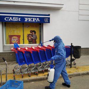 Diputación contrata la segunda campaña de desinfección para 40 localidades de la provincia de Cádiz