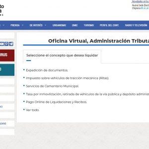El Ayuntamiento de Chipiona abre la posibilidad de realizar algunas autoliquidaciones desde la web municipal