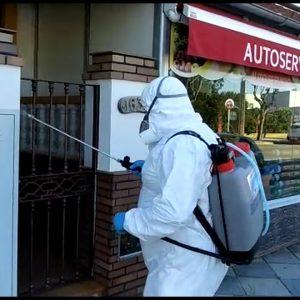 Finaliza la segunda campaña de limpieza y desinfección en Chipiona contratada por Diputación