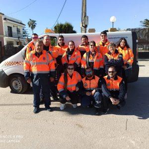 Protección Civil mantiene la asistencia a casi medio centenar de personas vulnerables de Chipiona tras dos meses de pandemia