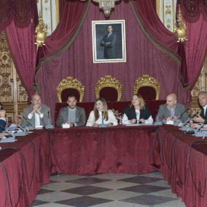 El alcalde de Chipiona en una reunión de Diputación sobre iniciativas de inversión frente a los daños económicos y sociales del COVID-19