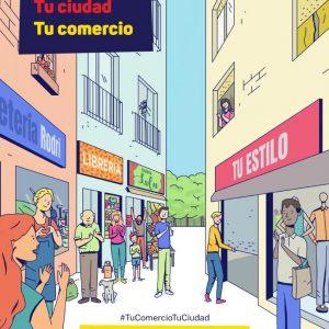 La campaña de FEDECO para relanzar el comercio de proximidad tras dos meses de cierre llega a Chipiona