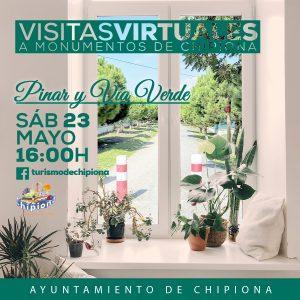 Las visitas virtuales de la Oficina de Turismo de Chipiona llegarán el sábado al pinar y la vía verde