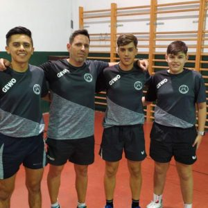 El Club Tenis de Mesa Portuense consigue el ascenso a la Primera División Nacional de Tenis de Mesa