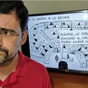 Francisco Javier Franco, el coronavirus en un puñado de viñetas