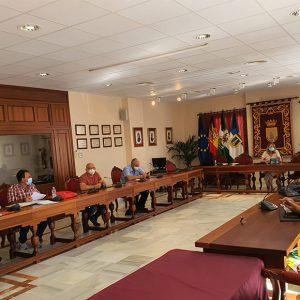 María Naval trata en la mesa negociadora con los sindicatos asuntos pendientes relativos a la plantilla municipal