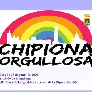 El Ayuntamiento de Chipiona conmemora el Día Internacional del Orgullo LGBTIQ+