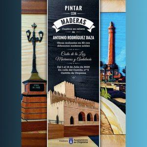 Antonio Rodríguez Daza abre el 1 de julio el ciclo de exposiciones del Castillo con su muestra 'Pintar con maderas'