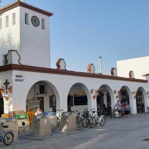 La Plaza de Abastos de Chipiona se ilumina esta noche de verde para visibilizar la enfermedad de la esclerodermia