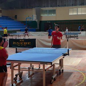 EL Club Tenis de Mesa Portuense retoma los entrenamientos tras tres meses de inactividad provocada por la cuarentena del COVID 19