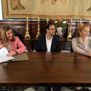 Diputación renueva el convenio con la Fundación Casa Medina Sidonia y destina 150.000 euros a conservar y difundir su patrimonio