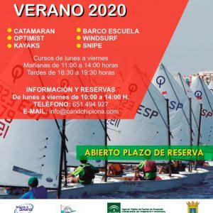 El CAND Chipiona anuncia el inicio de inscripción en sus actividades náuticas de verano