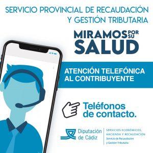 El Servicio de Recaudación estrena un sistema de atención telefónica para los contribuyentes de 44 municipios de la provincia de Cádiz