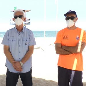 Protección Civil incrementa el número de voluntarios y el de botiquines en las playas de Chipiona