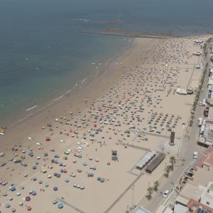 Lucas Díaz: La imágenes viene mostrando hace tiempo que las playas de Chipiona son garantía de seguridad