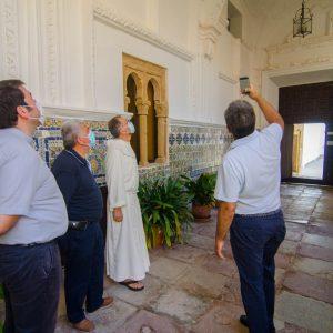 Chipiona recibe a los técnicos del obispado de la diócesis Jerez Asidonia para la creación de la ruta de turismo monumental