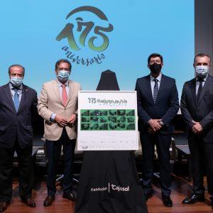 Presentación del cartel y los actos conmemorativos del 175 aniversario de las Carreras de Caballos de Sanlúcar en la Fundación Cajasol