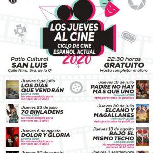 El ciclo 'Los jueves al cine' arranca esta noche en el Patio San Luis con 'Los días que vendrán'