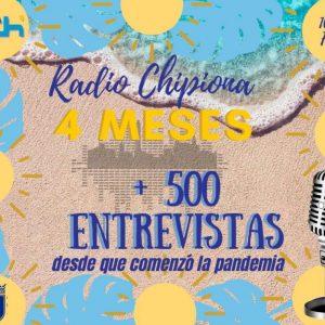 Radio Chipiona superó ayer la cifra de 500 entrevistas y reportajes desde que comenzó la crisis sanitaria