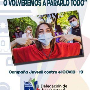 Rosa Naval informa sobre el lanzamiento de una campaña de concienciación contra el COVID-19 dirigida a los jóvenes