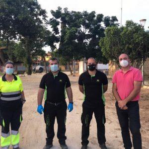 Lucas Díaz anuncia que, tras el plan de choque antiplagas, se actúa reforzando el entorno de los avisos atendidos