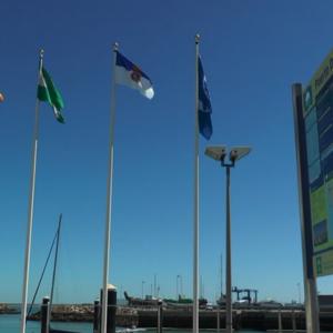 Chipiona recibirá el lunes del delegado territorial de Turismo de la Junta de Andalucía sus cinco Banderas Azules