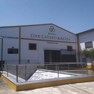 Mañana será presentada la nueva bodega de la Cooperativa Católico Agrícola que supone una inversión de 800.000 euros