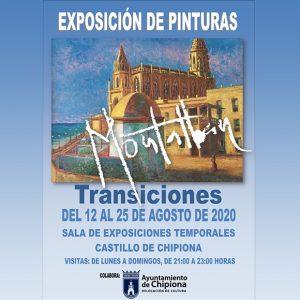 Montalbán vuelve al Castillo desde este  miércoles 12 de agosto con su nueva propuesta pictórica, 'Transiciones'