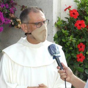 """Fray Juan José Rodríguez: """"Si existiera la más mínima posibilidad, hubiéramos sacado a la Virgen"""""""