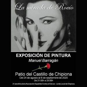 La exposición de Manuel Barragán 'La mirada de Rocío' recordará a la chipionera universal en el Castillo