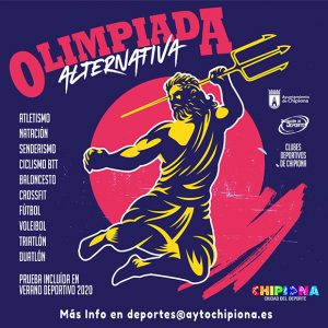 Ampliado hasta el día 30 de agosto el plazo para enviar los tiempos de la Olimpiada Alternativa de Chipiona