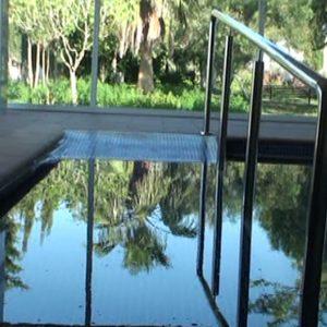 El Ayuntamiento de Chipiona aprueba una subvención de 6000 euros a AFANAS para mantener la caldera de biomasa de la piscina terapéutica