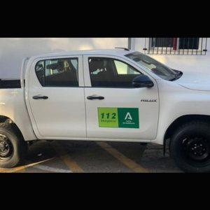 La Junta de Andalucía dota con un nuevo vehículo a Protección Civil de Chipiona para vigilancia, control y seguridad